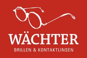 OPTIK WÄCHTER  Logo weiß auf rot